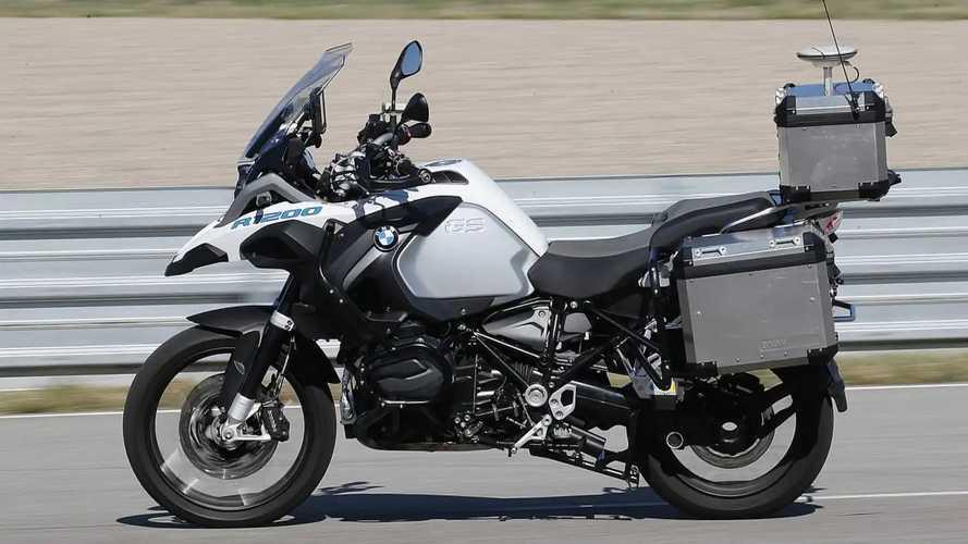 BMW R 1200 GS autonome, la moto qui roulait... toute seule !