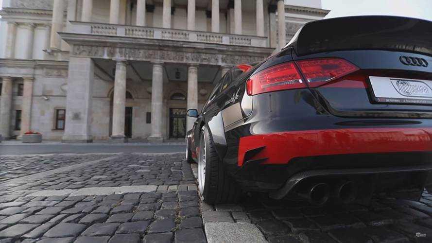 Audi A4 V8 quattro conversion