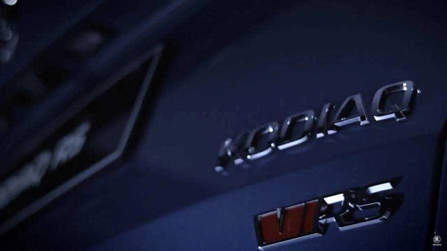 2019 Skoda Kodiaq RS teaser