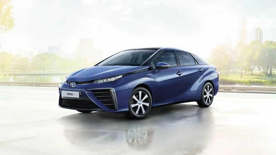 La Toyota Mirai coûte le prix de sept Aygo