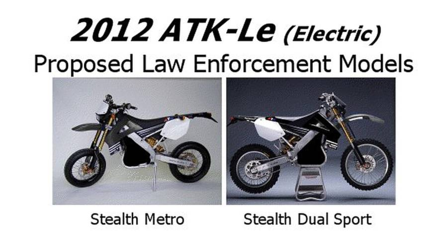 Electricity is the future of police bikes