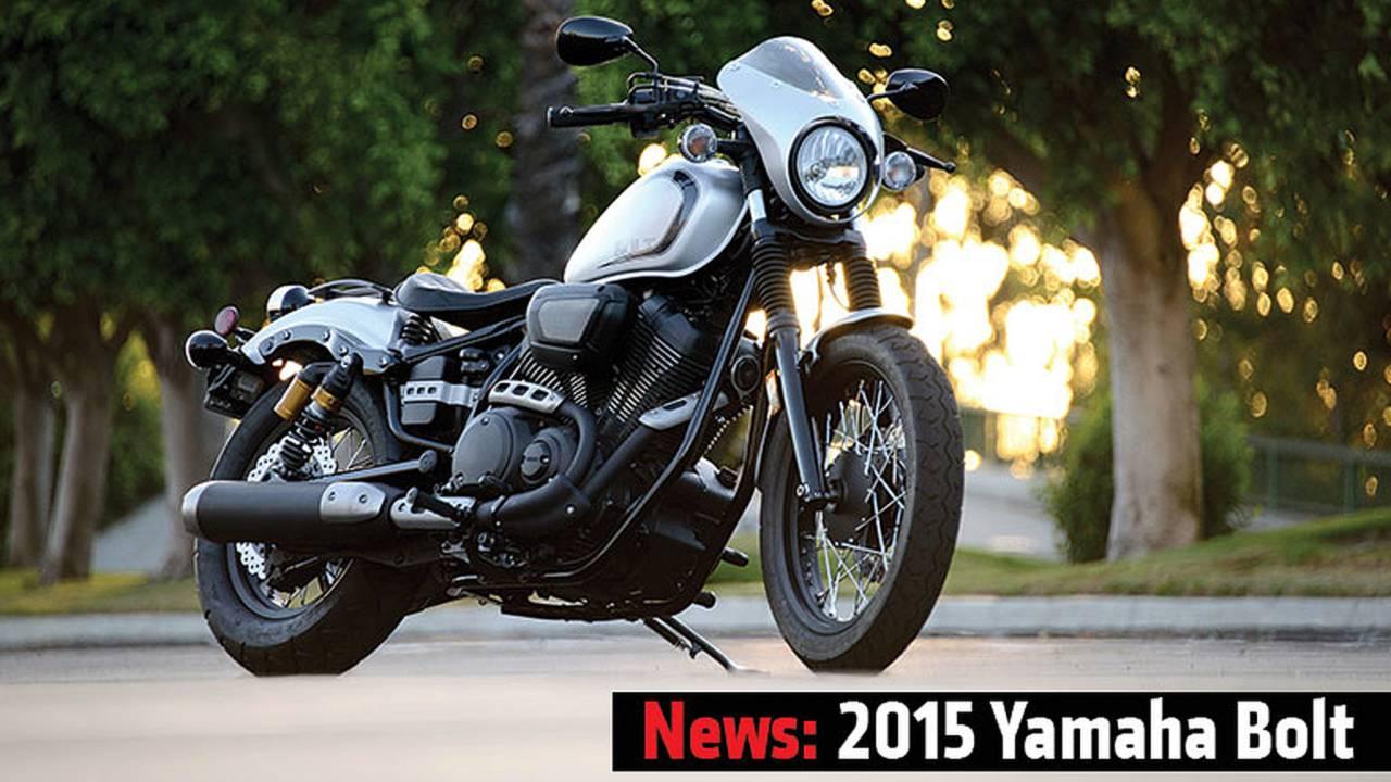 News: 2015 Yamaha Bolt