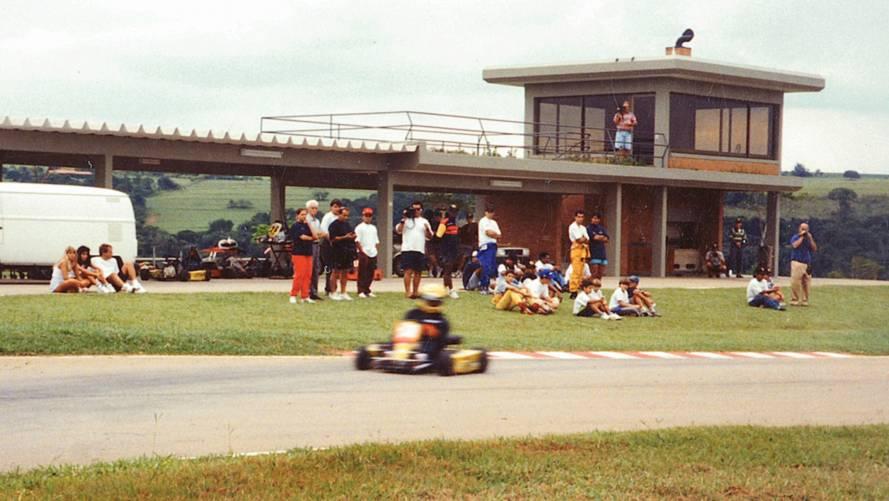 Ayrton Senna last kart