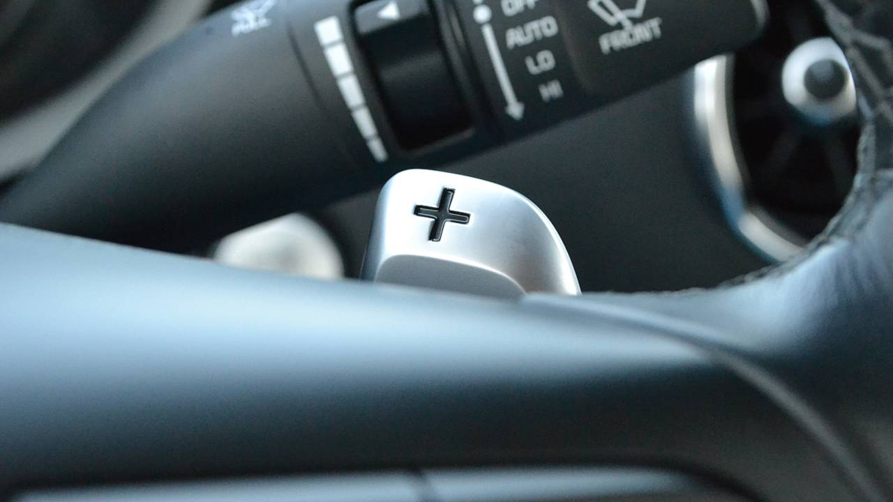 5. T-shaped shifter and paddles