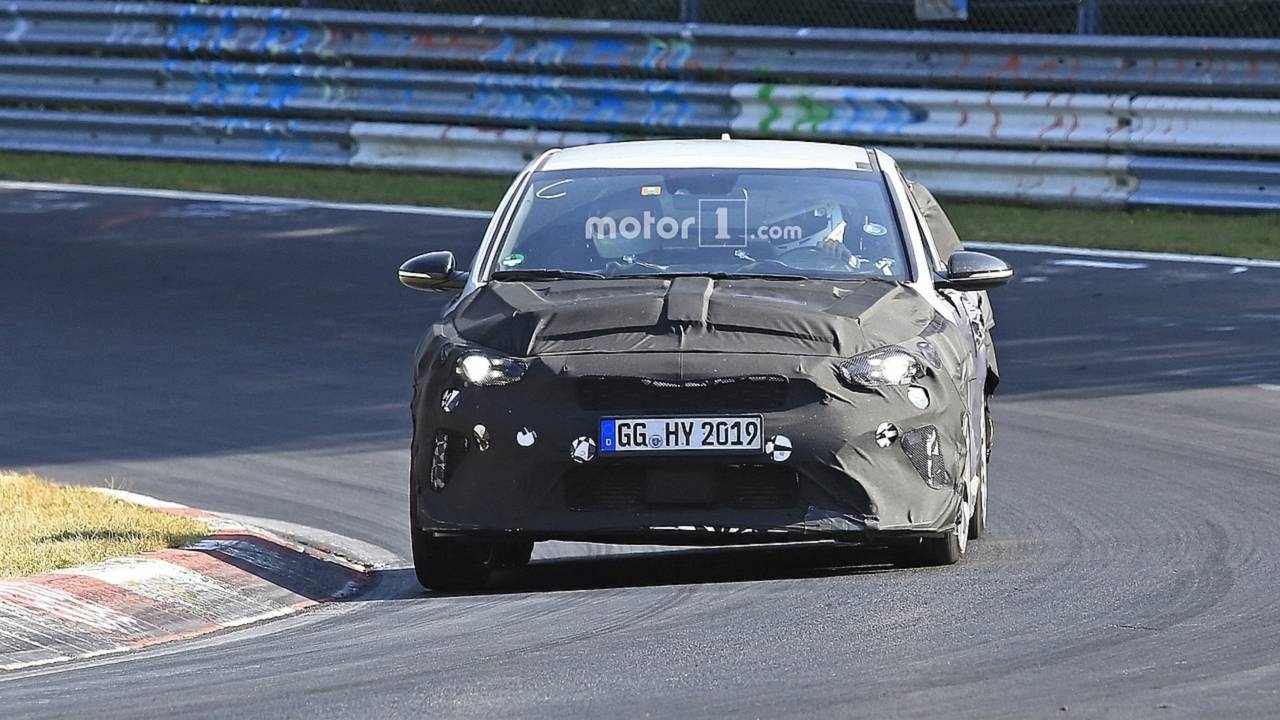 Kia Caught Testing Proceed Gt Ceed Gt At The Nurburgring