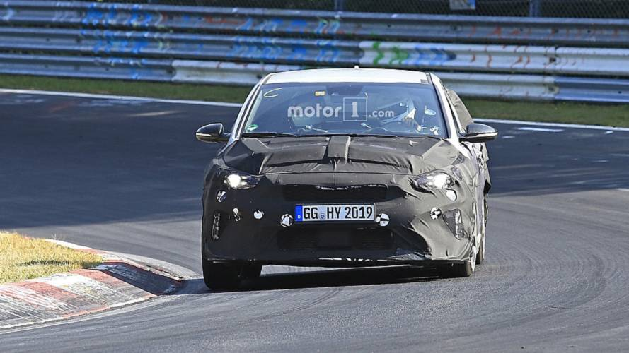 2019 Kia Ceed GT new spy shots