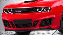 2021 Dodge Challenger rendering