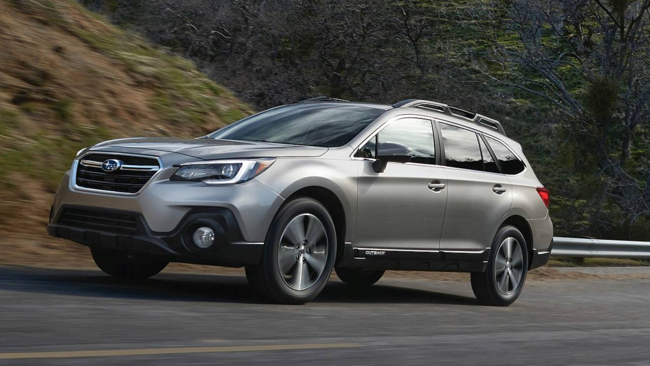 Midsize Car: Subaru Outback