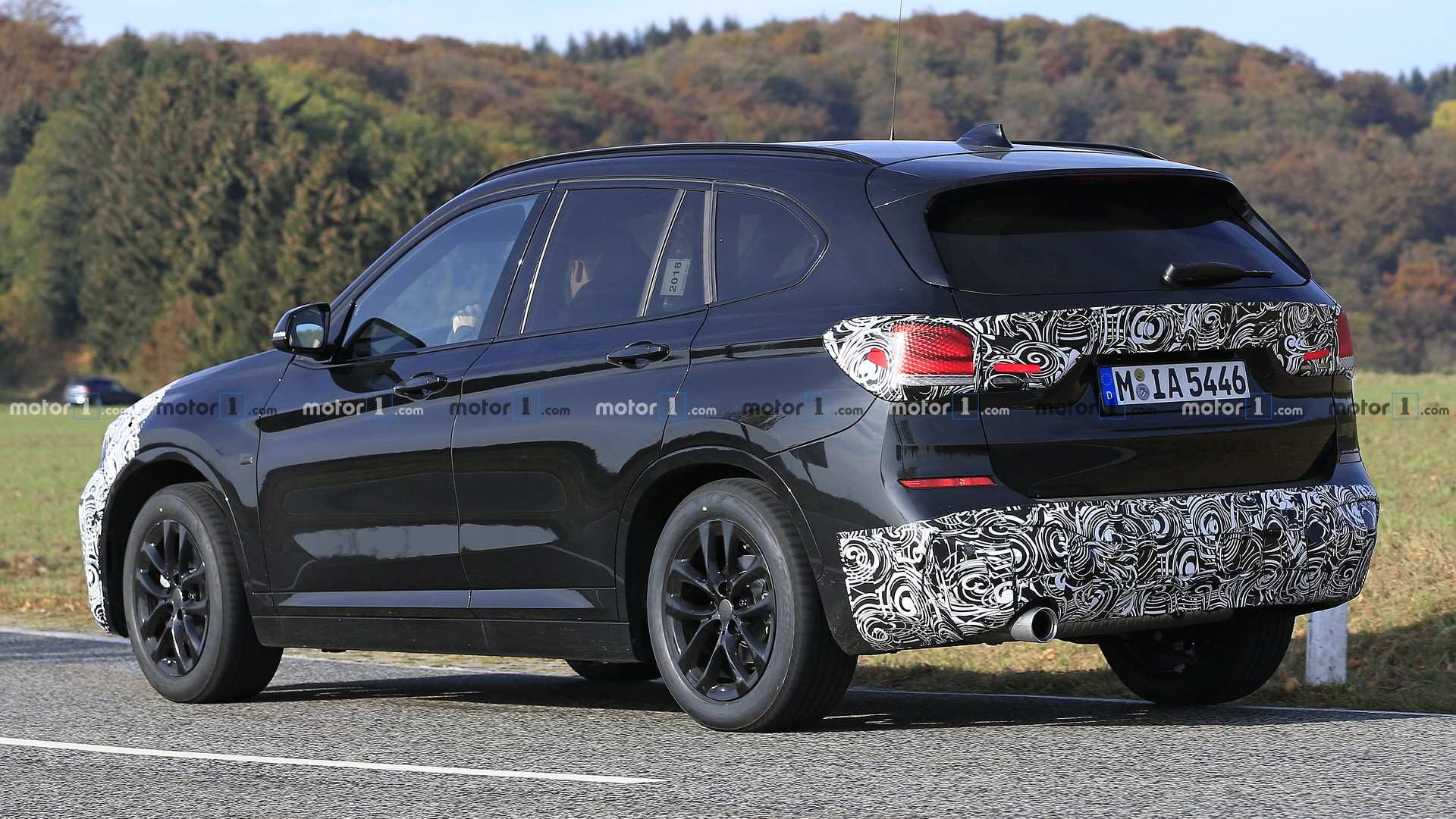 Spied Bmw X1 Getting Ready For A Minor Makeover