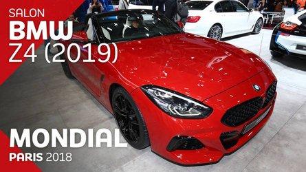 VIDÉO - La BMW Z4 en live au Mondial 2018