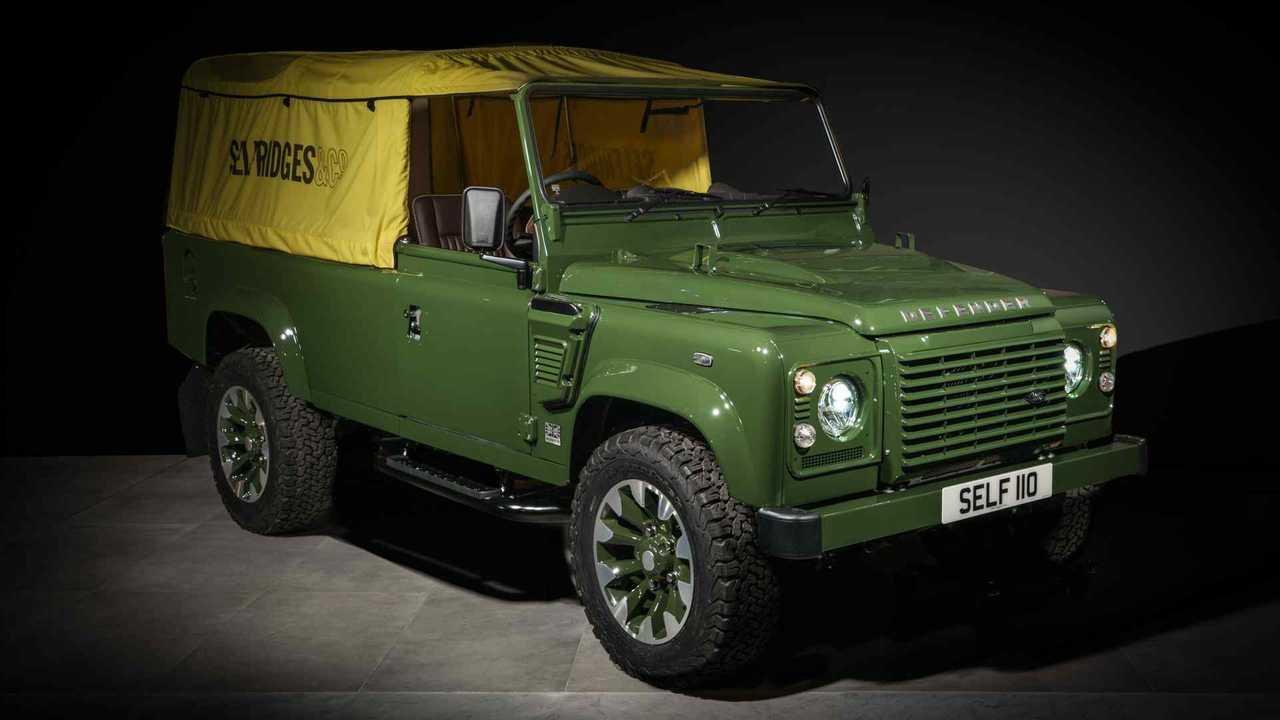 Land Rover Defender Works V8 Selfridges