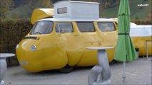vw bubble transporter food truck