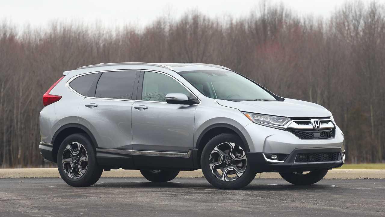 3. Honda CR-V: 1.7 Percent