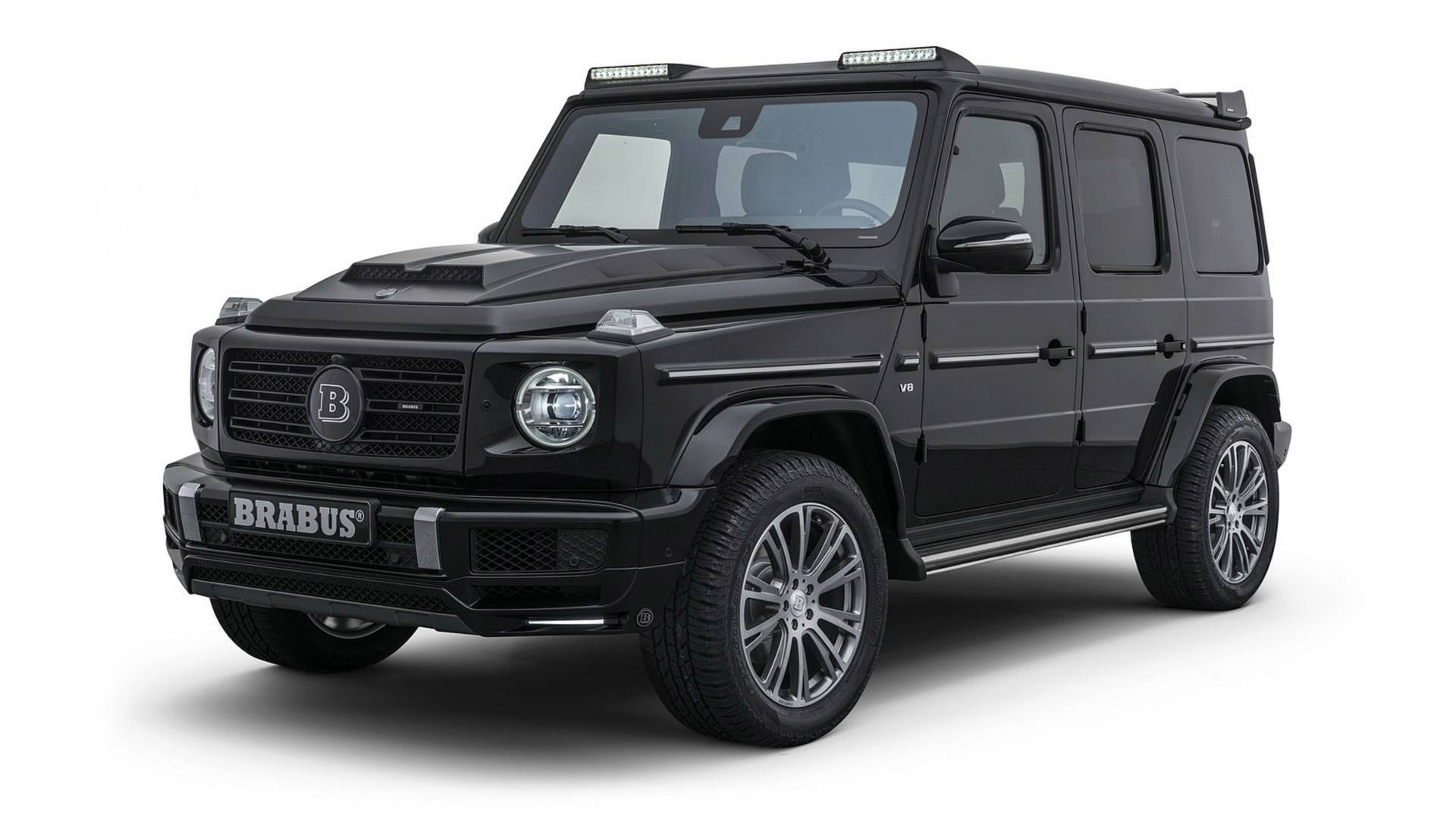 Brabus Works Its Magic On The New Mercedes G Class
