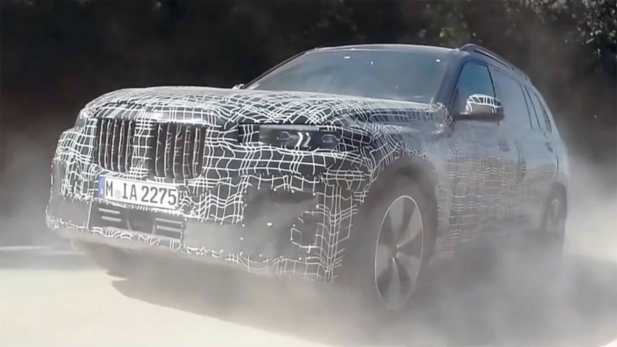 Watch BMW Put The New X7 Through Its Paces In Latest Teaser Video