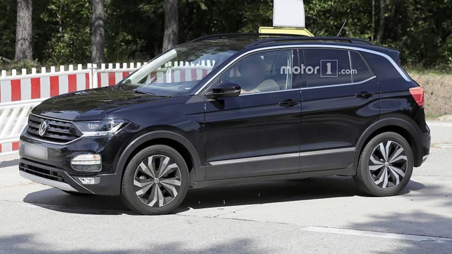 Volkswagen T-Cross - Flagra sem camuflagem
