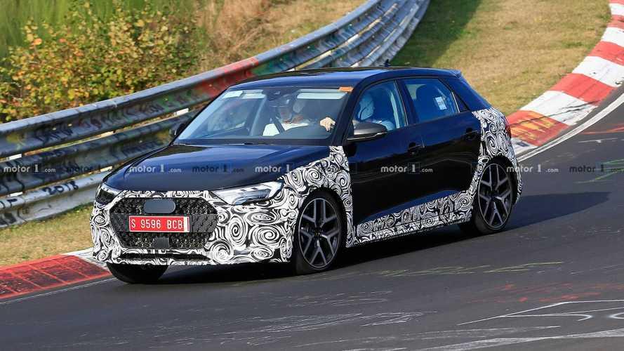 Audi A1 Allroad, Nürburgring'de görüntülendi