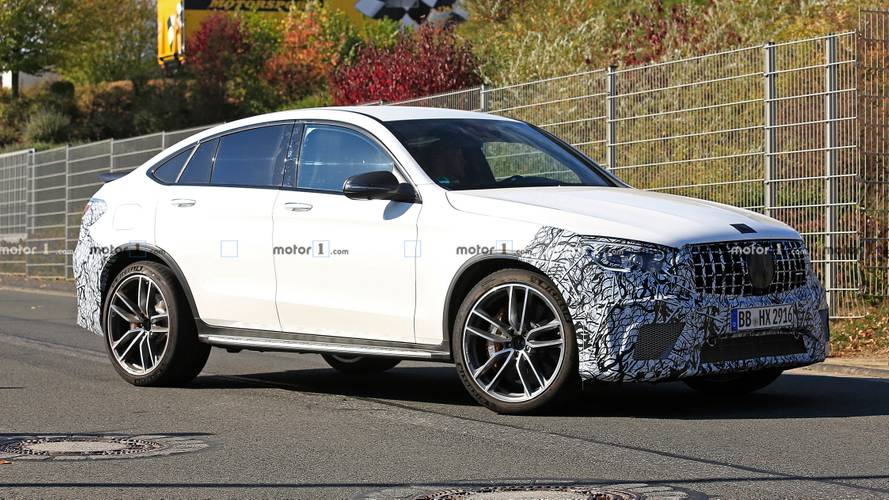 Mercedes-AMG Caught Testing GLE 63, GLC 63 Coupe