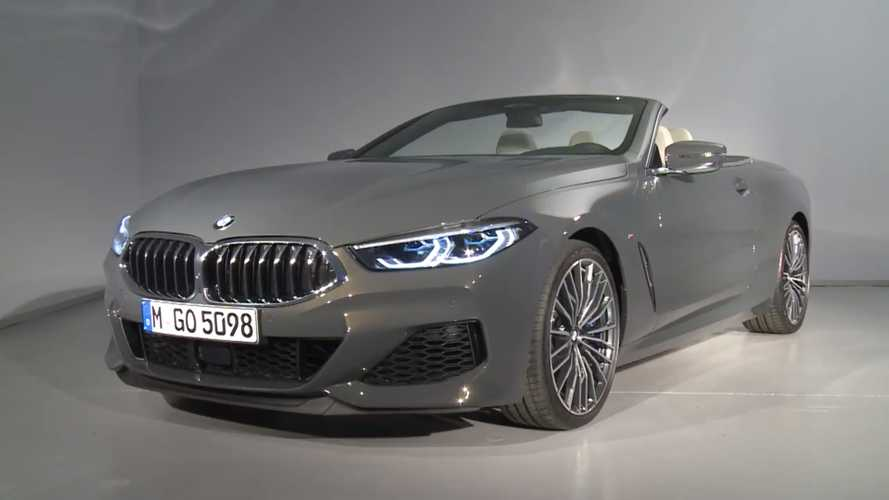 2019 BMW 8 Series Convertible videos highlight the M850i