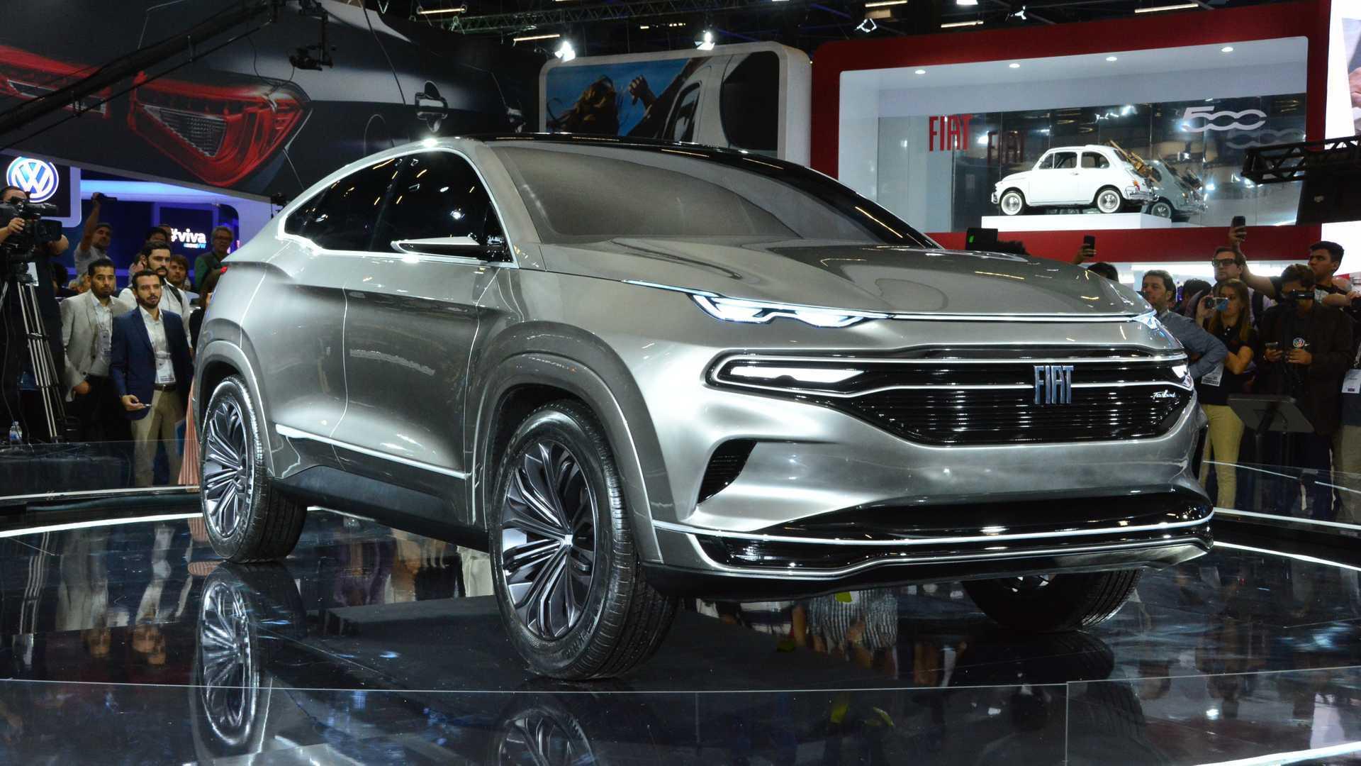 Salão de SP: Fiat mostra conceito de SUV-cupê baseado na Toro Fiat-fastback-concept-salao-de-sp-2018