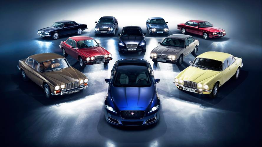 Jaguar convoy heads to Paris for the XJ's 50th birthday