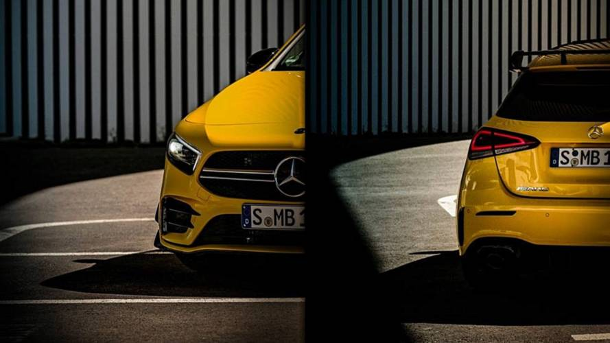 2019 Mercedes-AMG A35 Shows Rear Wing In New Teaser