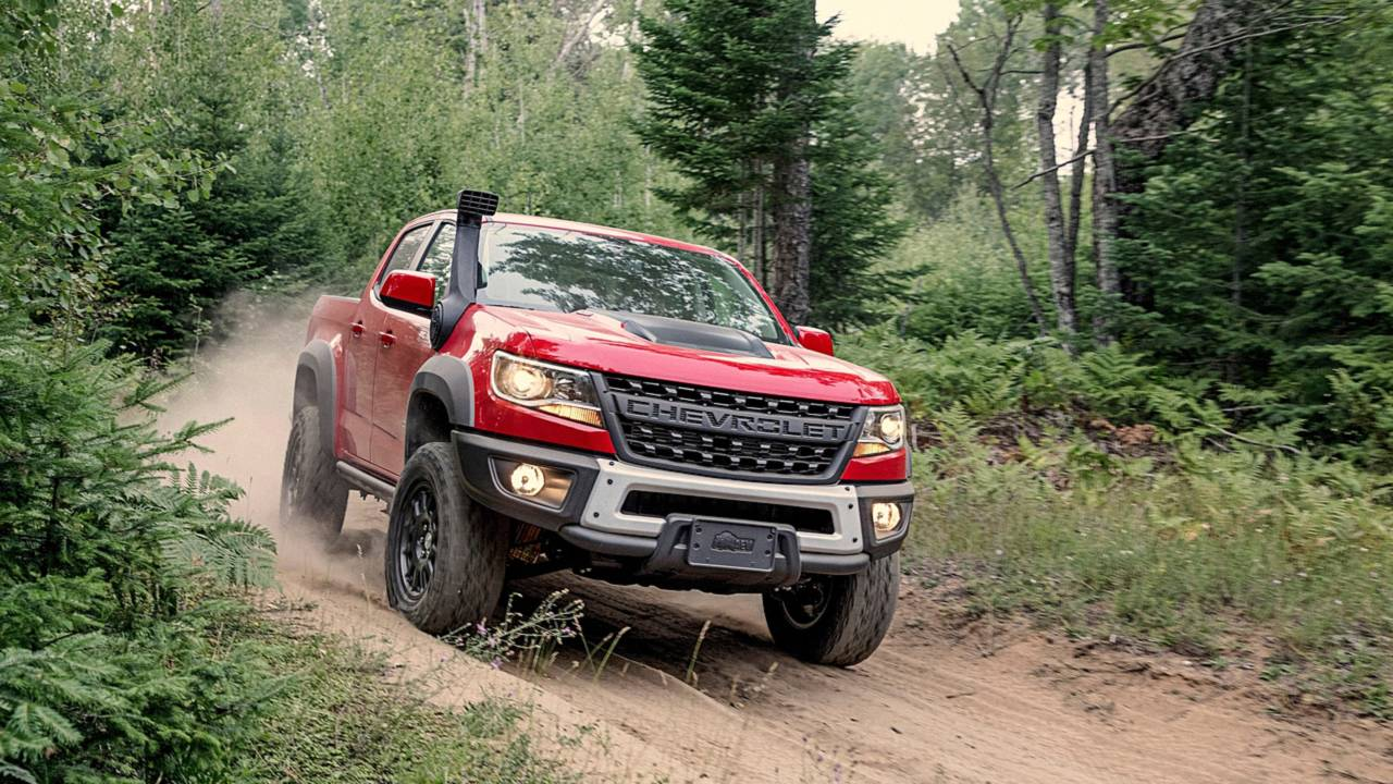Ram Runner For Sale >> Chevrolet Colorado ZR2 Bison Adds Beef To Mid-Size Truck Segment