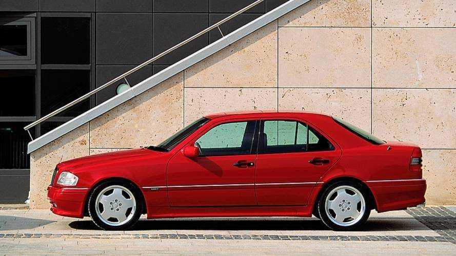1993 Mercedes C 36 AMG (W202)