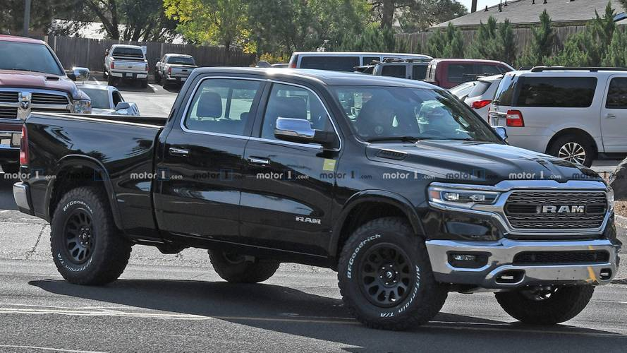 Ram Rebel TR Spied Trying To Hide Stronger Frame To Handle New V8