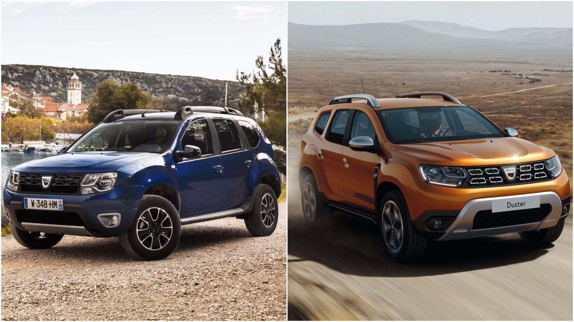 Dacia Suv 2018 >> 2018 Dacia Duster See The Changes Side By Side