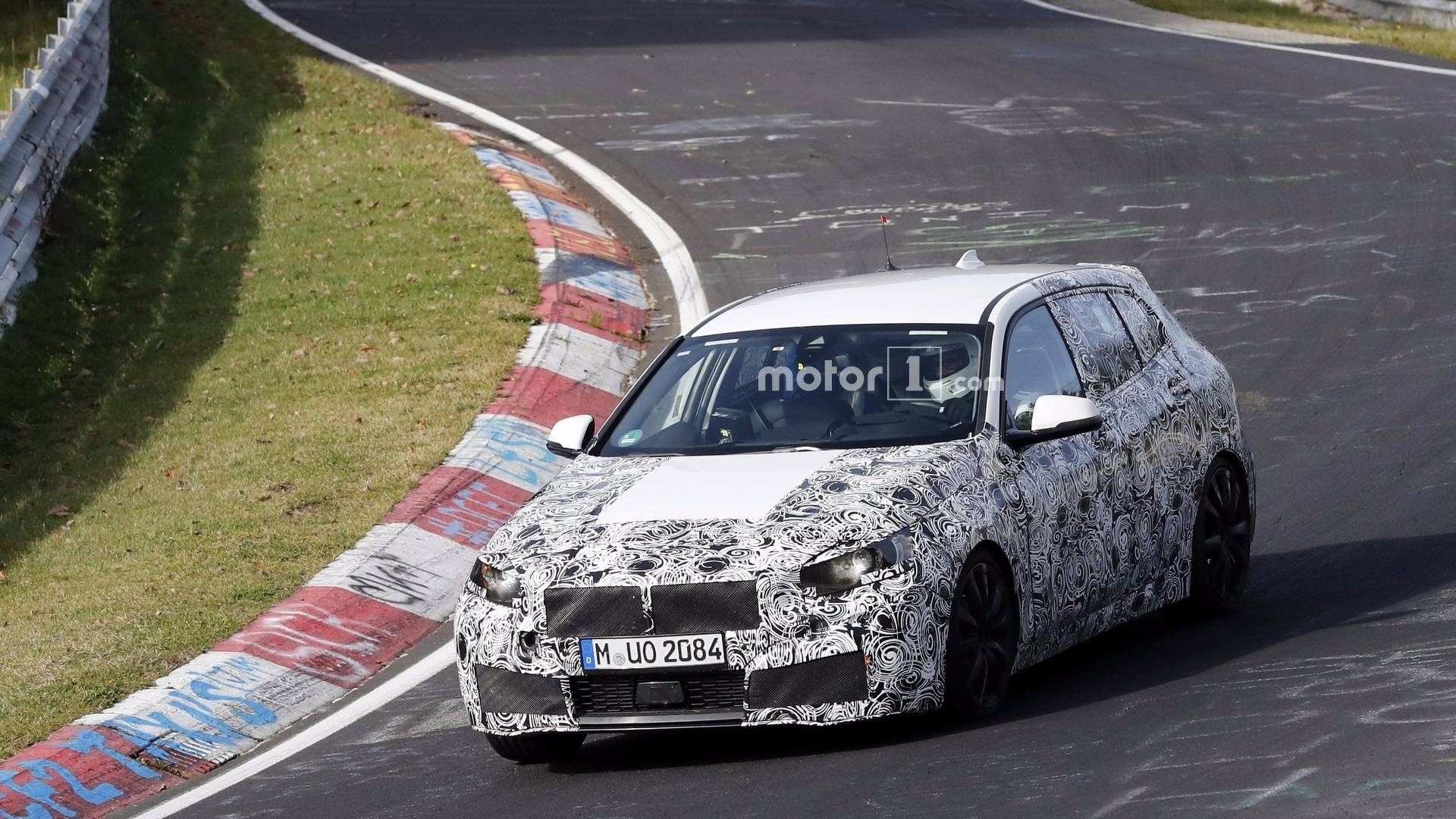 2019 BMW 1 Series Photographed Showing Digital Instrument