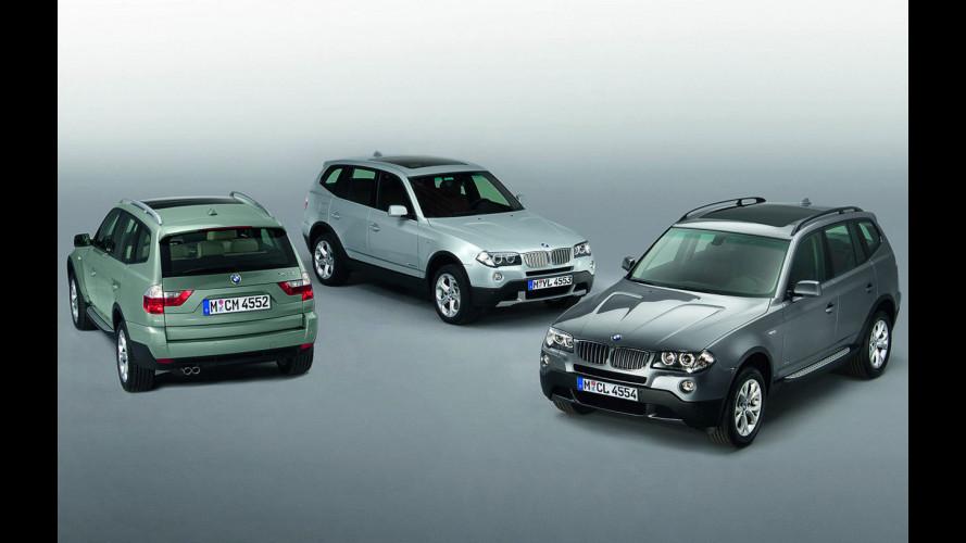 BMW X3 model year 2009