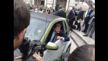 A Gianni Alemanno la prima smart ED