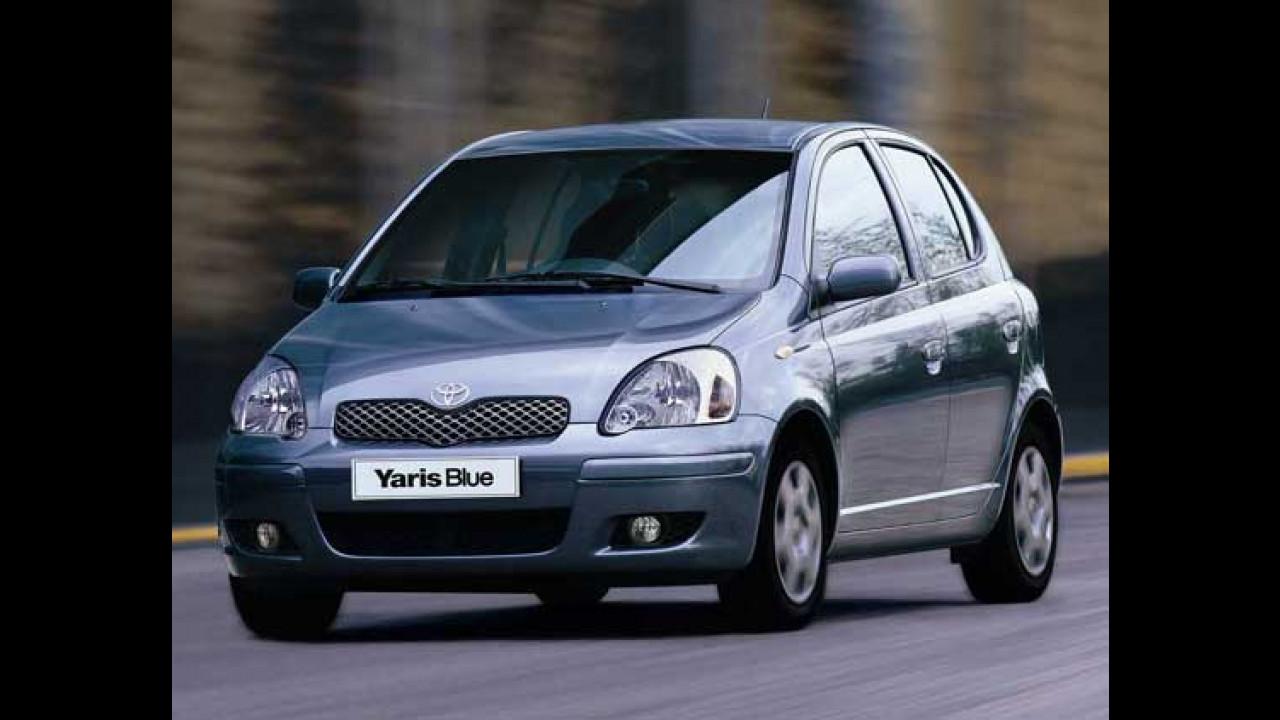 Toyota Yaris Blue