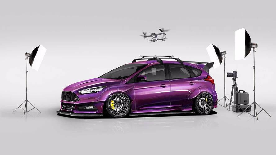 2017 Ford Focus Tuner Cars At SEMA