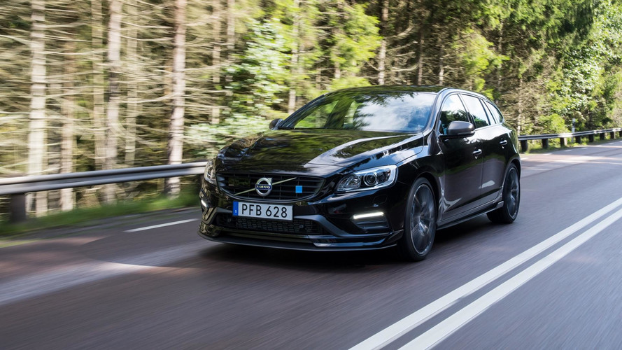 2018 Volvo S60 And V60 Polestar Get Carbon Fiber Aero Pack