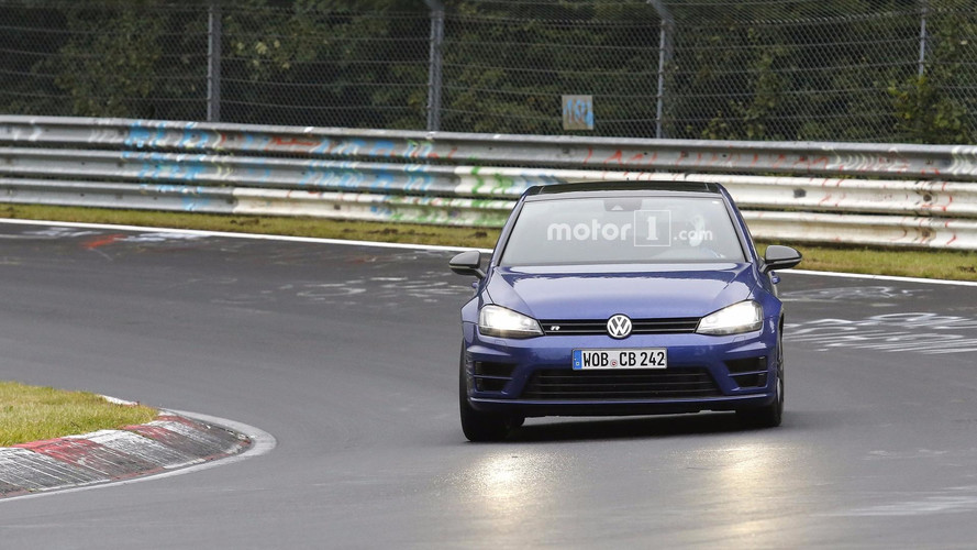 VW Golf R420 foto spia