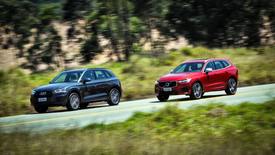 Ranking dos SUVs de luxo mais vendidos: Audi Q5 supera XC60 pela 1ª vez