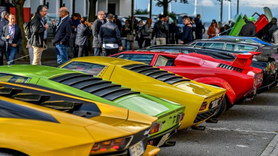 Sor került az első Lamborghini Concours d' Elegance-ra, avagy a dühöngő bikák randevújára