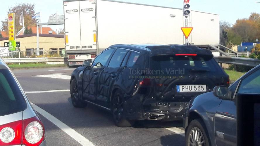 Next-Gen Volvo V60 Spied For First Time Testing In Sweden