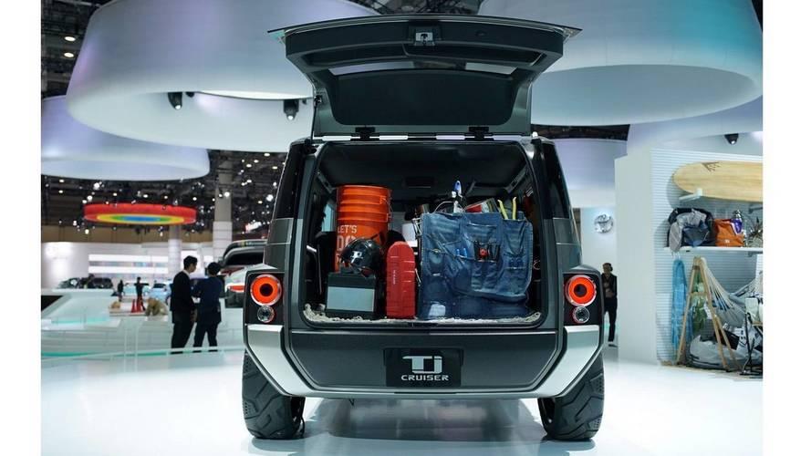 Toyota TJ Cruiser Live Photos