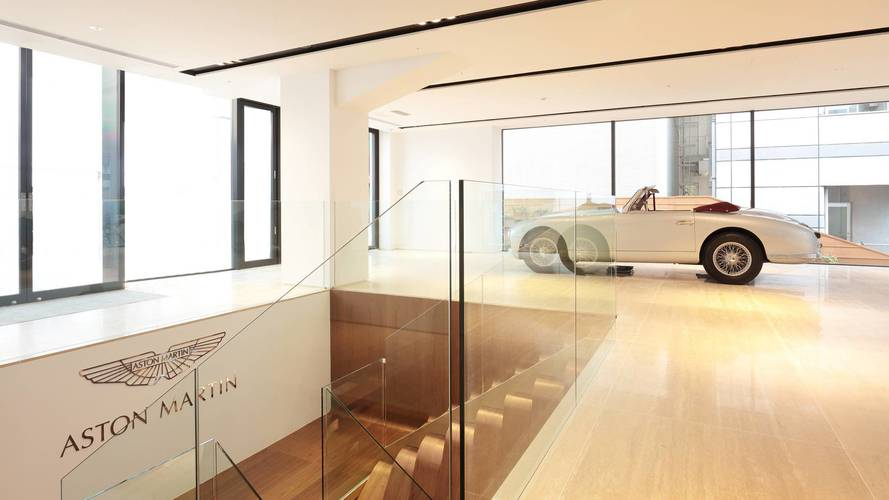 Aston Martin opens new showroom in Tokyo