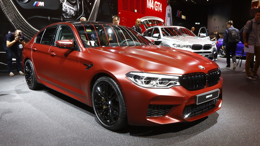BMW M5 Shows Off Its 600-HP V8, Updated Design In Frankfurt