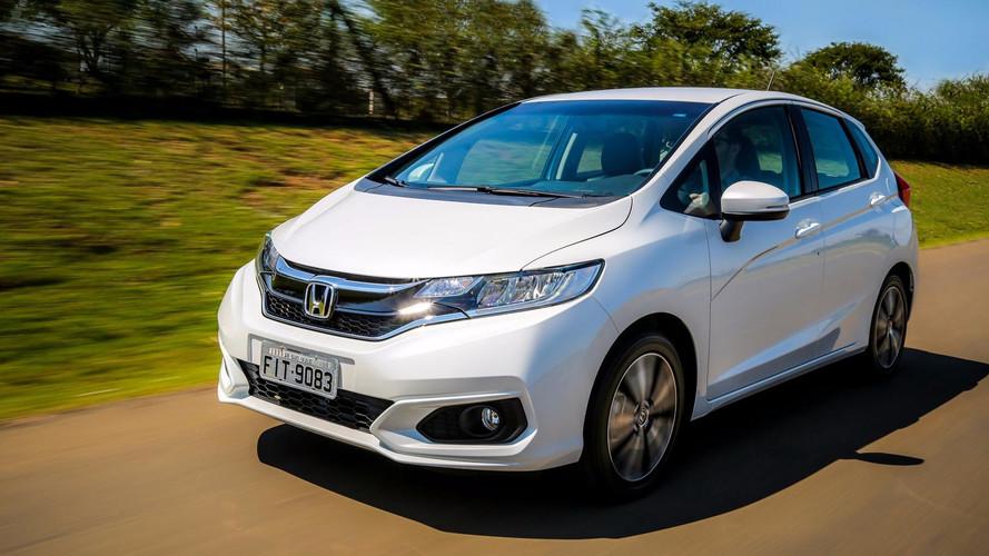 Impressões - Honda Fit 2018 traz novo visual, ESP e mais equipamentos