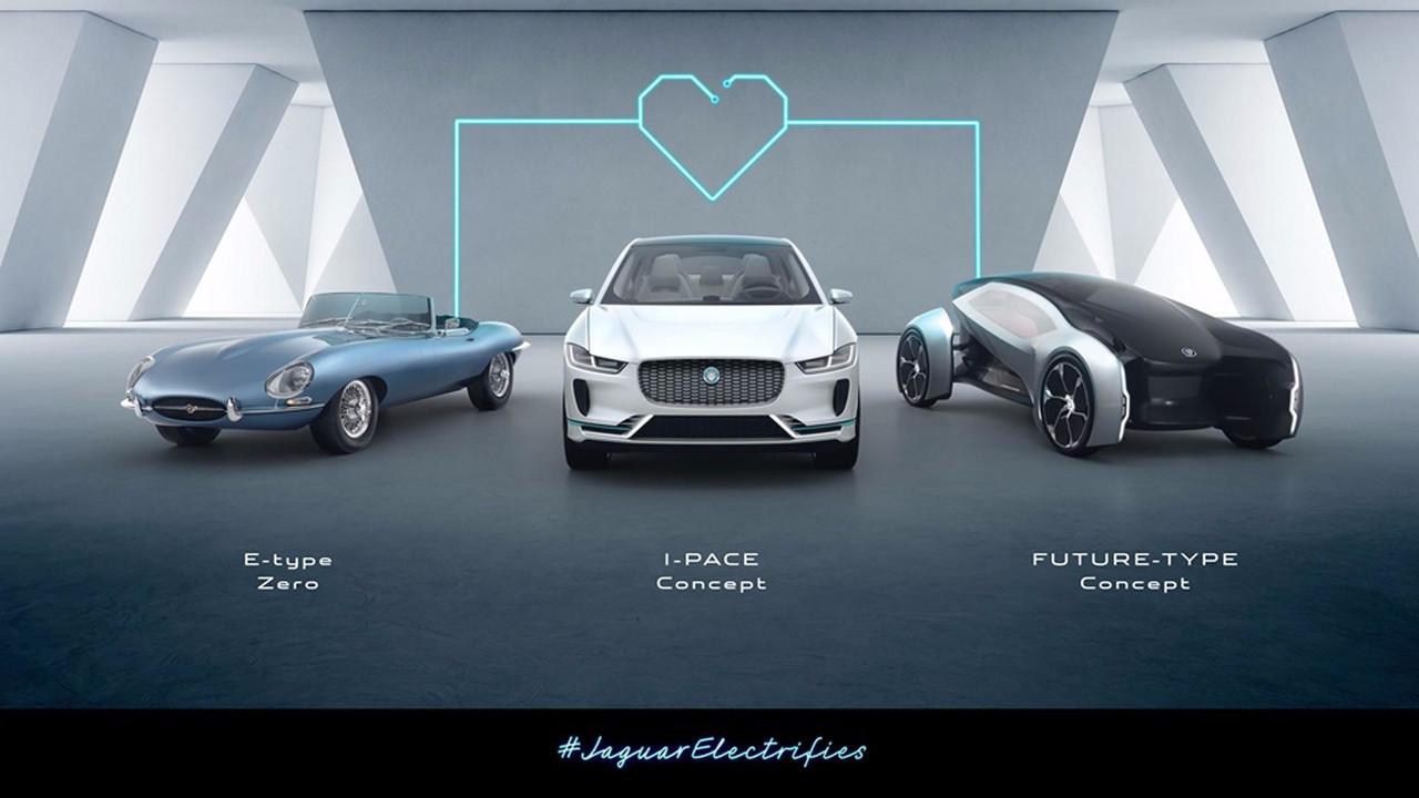 Jaguar Land Rover terá somente híbridos e elétricos a partir de 2020