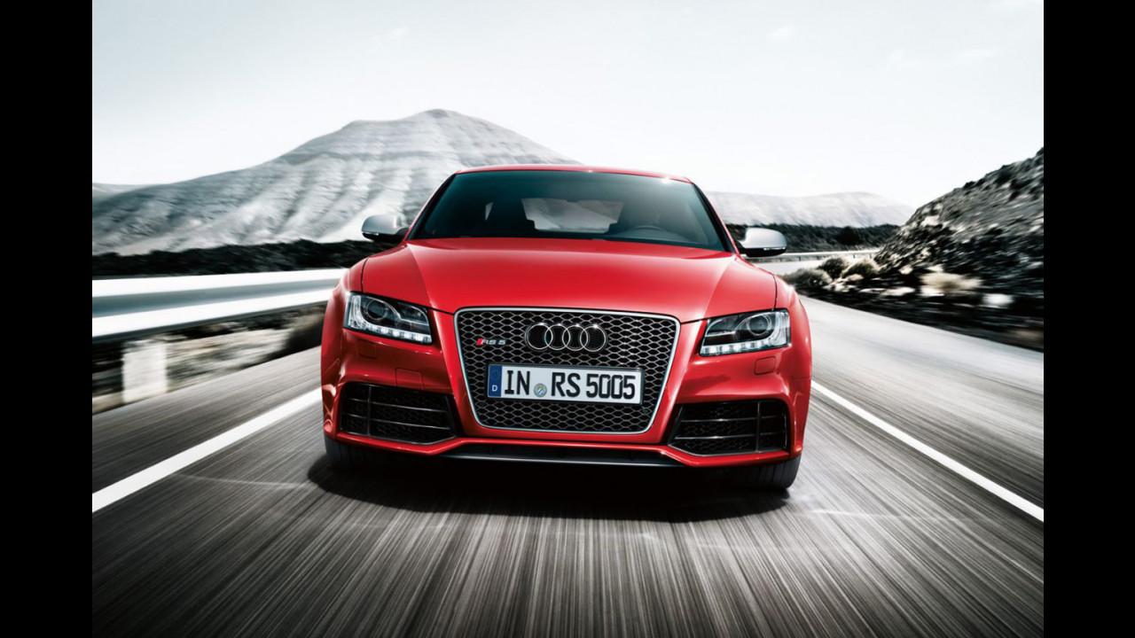 Audi RS5, la brochure