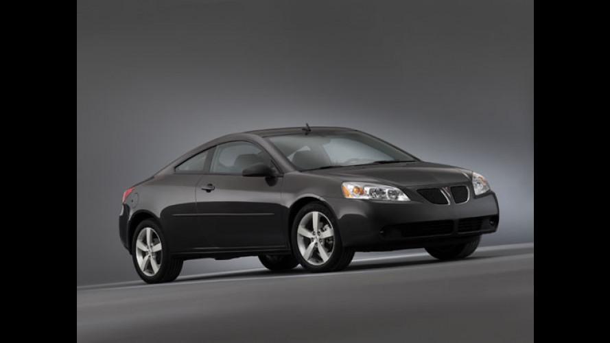 Pontiac G6 Coupè e Convertibile
