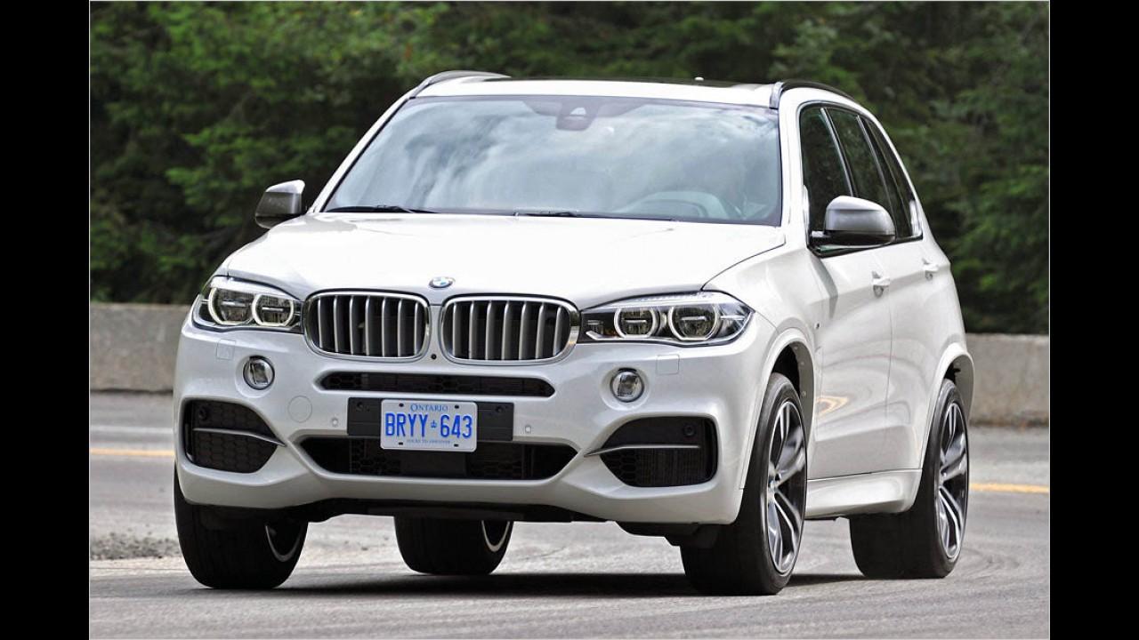 381 PS: BMW X5 M50d