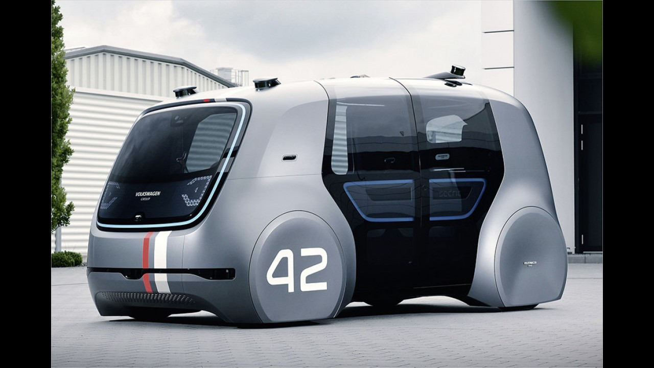 VW Sedric als autonomer Stammvater