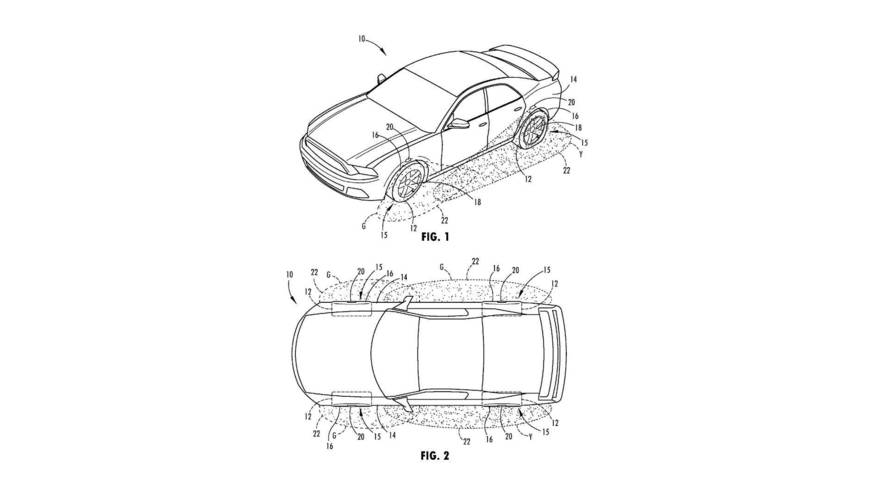 Ford Patents Wheel Light That Doubles As Tire Pressure Monitor
